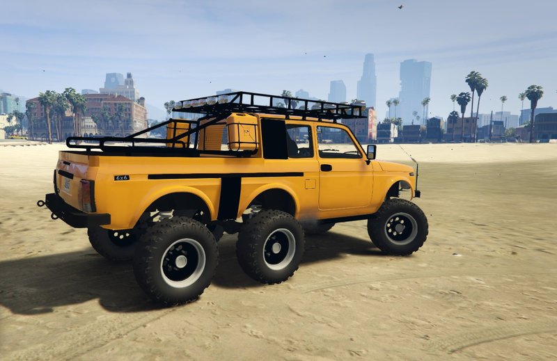 gta 5 lada niva 6x6 tuning mod. Black Bedroom Furniture Sets. Home Design Ideas