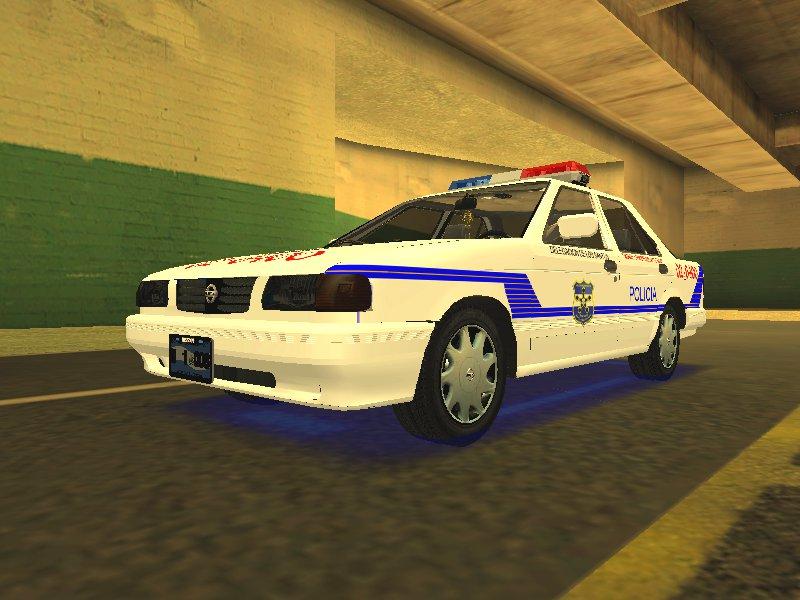 GTA San Andreas Nissan Sentra B13 2004 Patrulla ...
