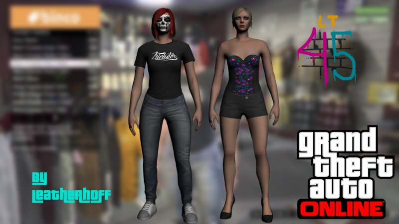 Gta san andreas female skins minipack from gta v online mod female skins minipack from gta v online voltagebd Images