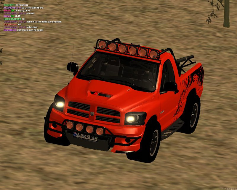 "GTA SA ""Dodge Ram SRT DES 2012 Ford F150 SVT"""