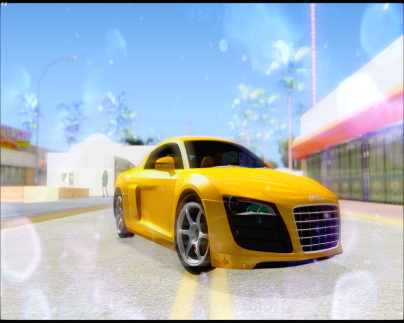 audi r8 mod for gta san andreas