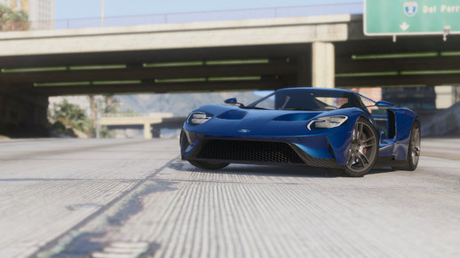 2017 Ford GT [Add-on,Replace]