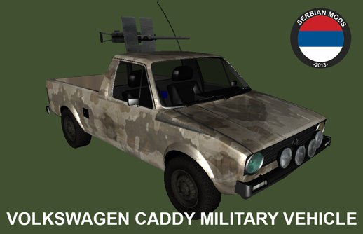 VW Caddy Military Vehicle