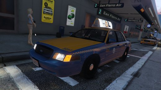 1999 Ford Crown Victoria Taxi