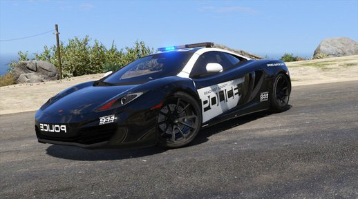 McLaren MP4 12C - Seacrest County Police + Template