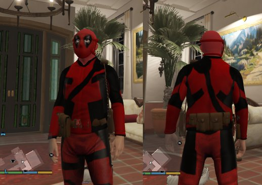 Deadpool - Movie Suit