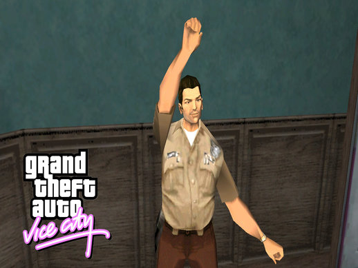 Tommy Vercetti Policeman Suit From GTA Vice City