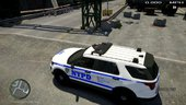 NYPD 2016 Ford Police Interceptor Utility
