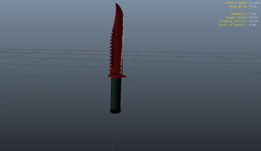 M9 Bayonet - Crimson Web Knife (CS:GO)