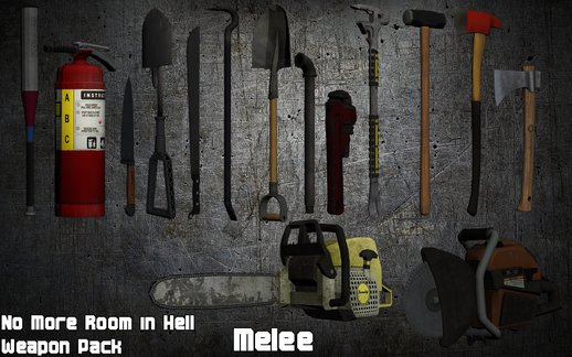No More Room in Hell Weapon Pack