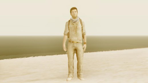 Uncharted 3 Nathan Drake Desert Outfit (PS3 Model)