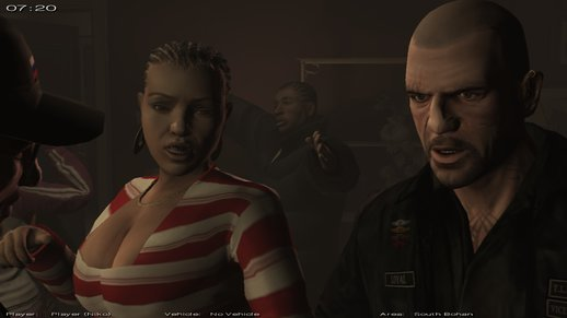 EFLC Johnny in Cutscenes of GTA IV
