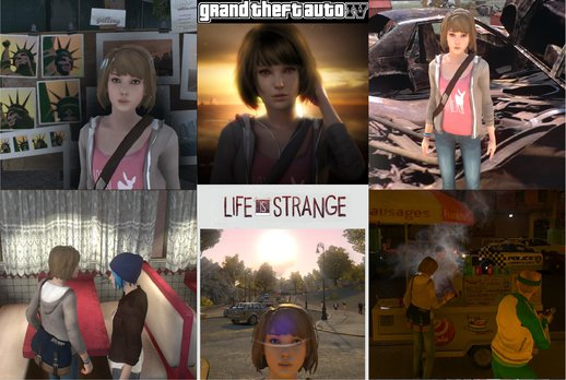 GTA IV - Life Is Strange - Max With Full Voice Track