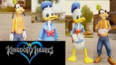 Kingdom Hearts Donald Duck-Pato Donald and Goofy-Pateta Pack