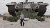 Mega Giant God GTA 5 Tank MOD