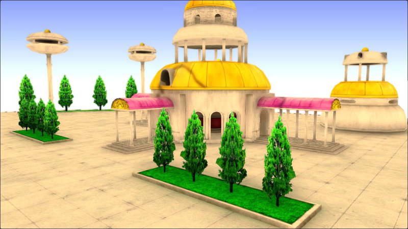 Gta San Andreas Dragon Ball Z Kami Lookout Map Mod Cleo Teleporter