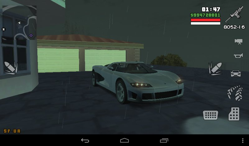 GTA San Andreas GTA V Entity XF for Android Mod - GTAinside com