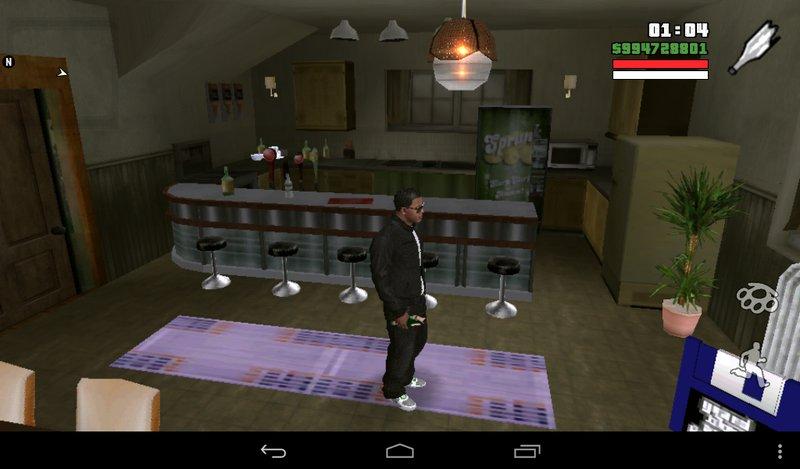 Gta San Andreas New Cj House For Android Mod Gtainside Com