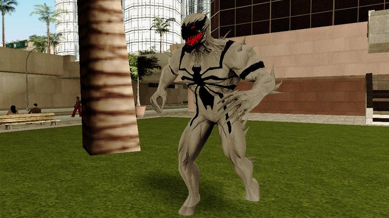 GTA San Andreas Marvel Heroes - Anti-Venom Mod - GTAinside com