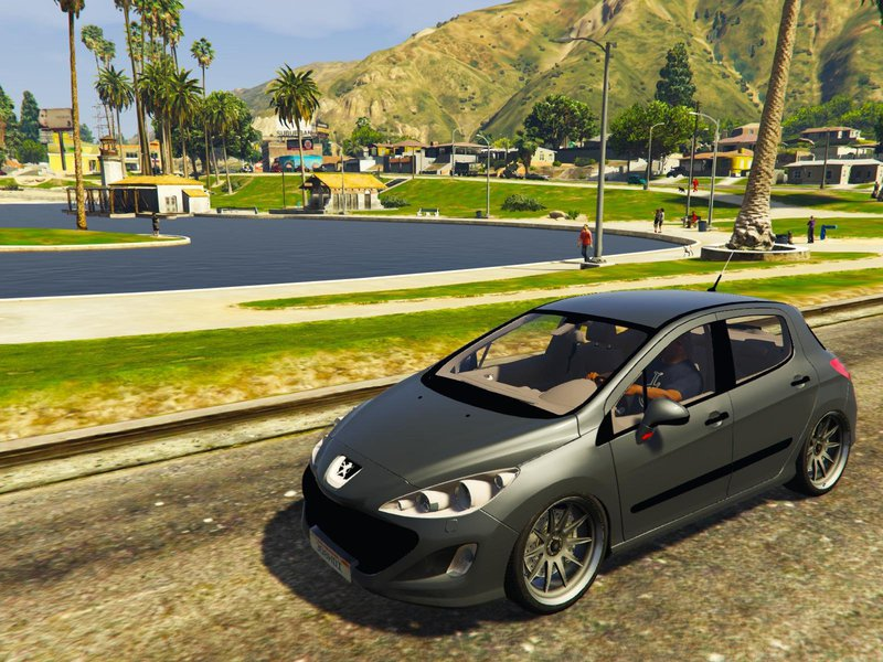 gta 5 peugeot 308 hdi mod. Black Bedroom Furniture Sets. Home Design Ideas