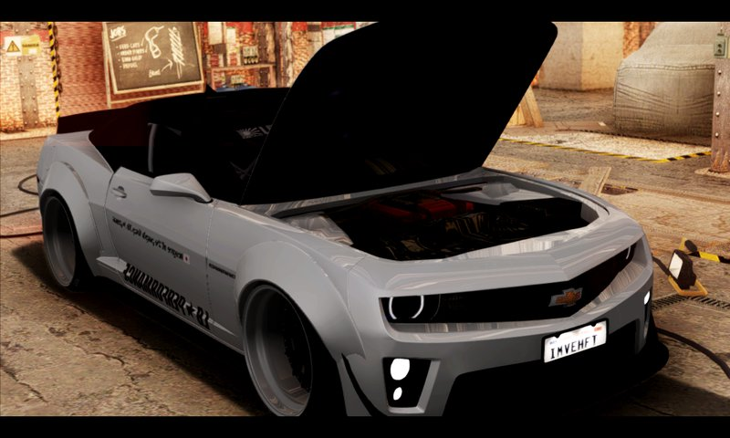GTA San Andreas 2012 Chevrolet Camaro ZL1 Liberty Walk LB