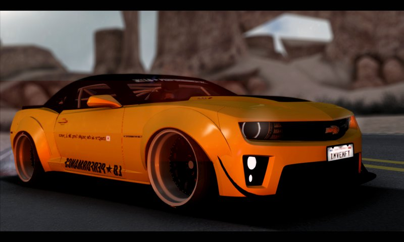 GTA San Andreas 2012 Chevrolet Camaro ZL1 Liberty Walk LB ...