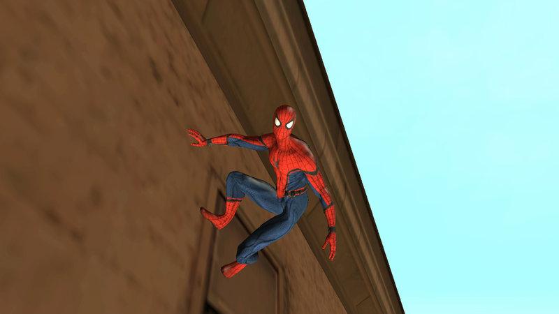 GTA San Andreas Civil War Spider-Man [v1] Mod - GTAinside com