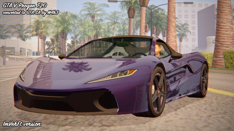 GTA San Andreas GTA 5 Progen T20 v2 Mod - GTAinside com