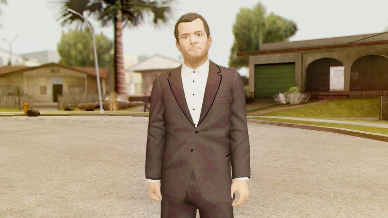 GTA San Andreas GTA V Michael PimP Suit Mod - GTAinside com