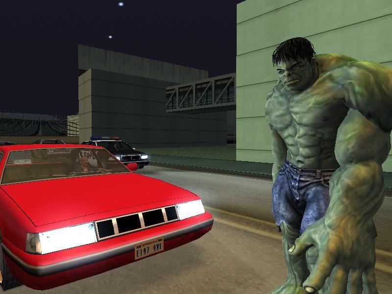 GTA San Andreas Hulk Bodyguard Mod V3 Mod - GTAinside com