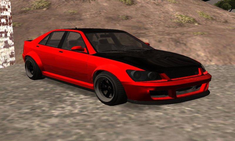GTA San Andreas GTA V Karin Sultan RS 4 Door Mod ...