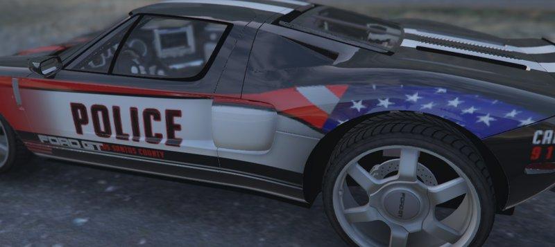Ford Gt Police Car