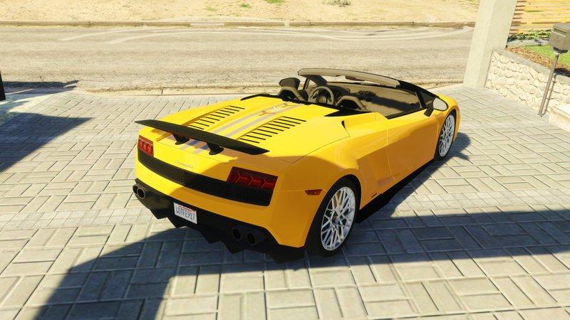... Lamborghini Gallardo LP 570 4 Spyder ...