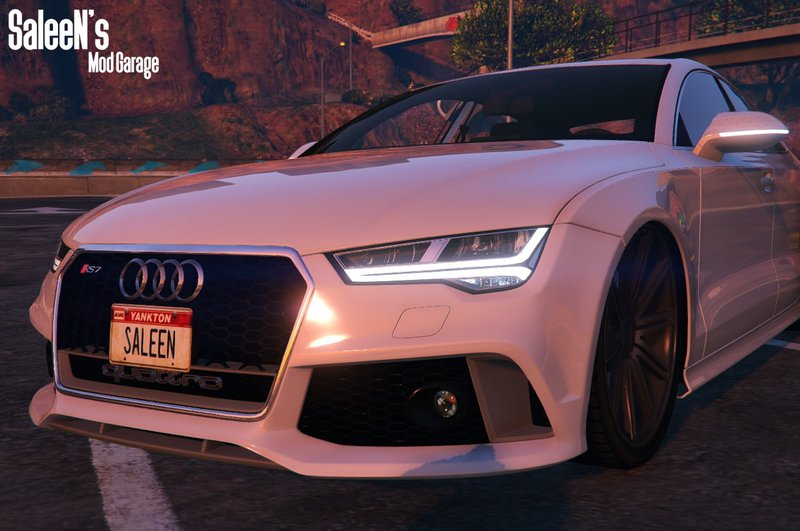 Gta 5 Audi Rs7 Sportback 2015 Replaceaddon Mod Gtainside