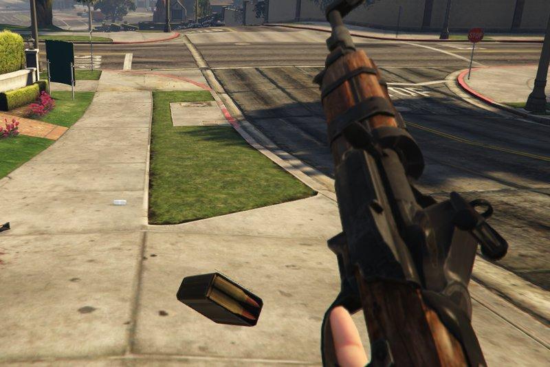 GTA 5 Bioshock Infinite - Carbine Rifle Mod - GTAinside com