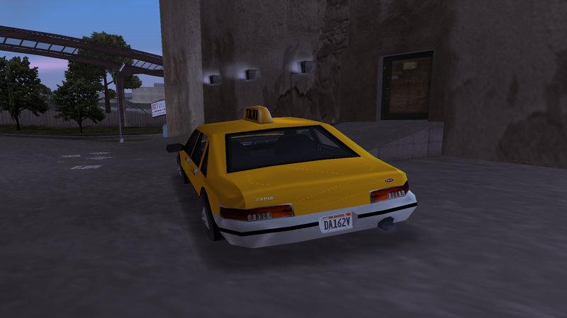 GTA 3 [III] New HD textures for TAXI Mod - GTAinside com