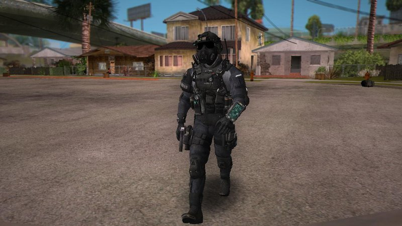 Gta San Andreas Cod Ghost Elite Pmc Assault Mod