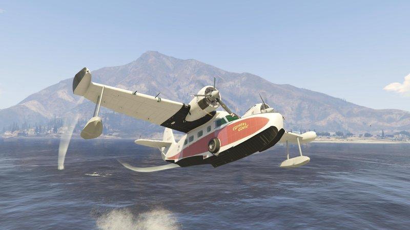 GTA 5 Grumman seaplane v2 + Add-on Mod - GTAinside com
