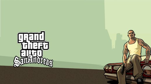 GTA SA HD Startup and Loadscreens