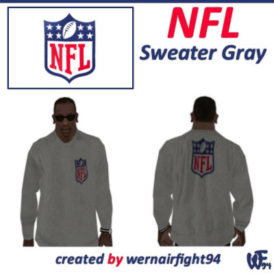 NFL Sweater Gray