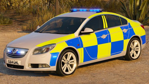 Police Vauxhall Insignia