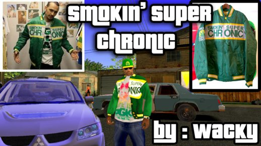 Smokin Super Chronic Jacket