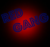 RED GANG CAR and PED