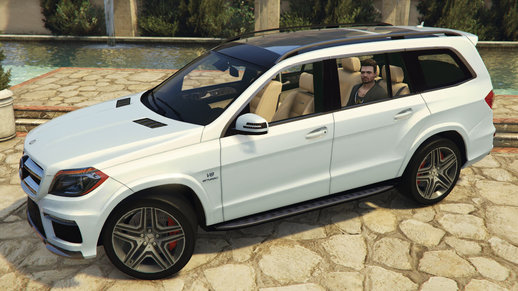 Mercedes GL63 AMG (Add-on / Replace) v1.3