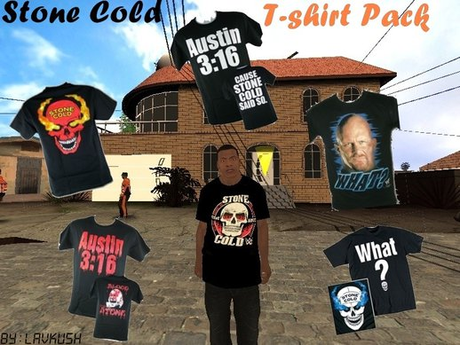 Stone Cold T-Shirt Pack