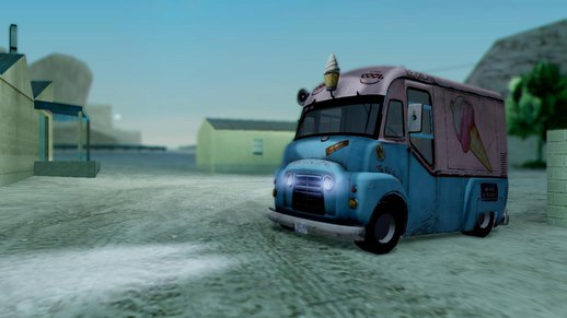 Hitman Absolution Ice Cream Van