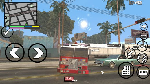 GTA V Fire Truck for Android