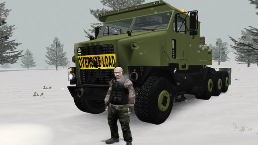 OShkosh M1070 HET USA Military Transport truck 2.0