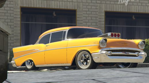 1957 Chevrolet Bel Air Sport Coupe [Tuning]