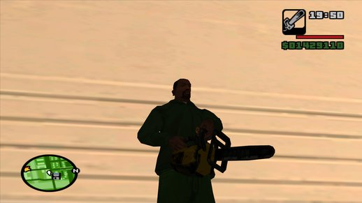 Liberty City Stories Chainsaw